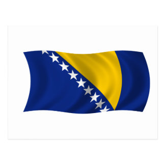 Bandera de Bosnia y Herzegovina Postal