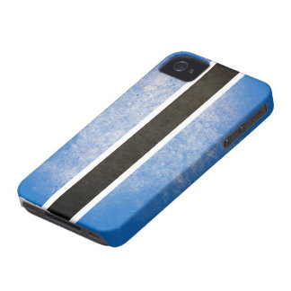 Bandera de Botswana Case-Mate iPhone 4 Cobertura