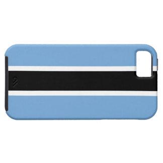 Bandera de Botswana Funda Para iPhone 5 Tough