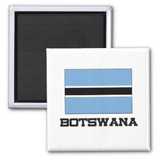 Bandera de Botswana Iman De Frigorífico