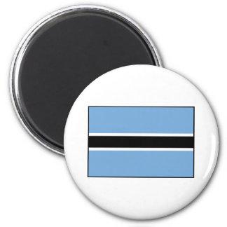 Bandera de Botswana Imán Redondo 5 Cm