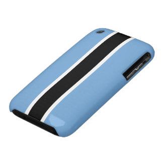 Bandera de Botswana iPhone 3 Case-Mate Cobertura