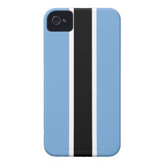 Bandera de Botswana iPhone 4 Case-Mate Coberturas