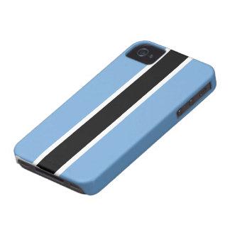 Bandera de Botswana iPhone 4 Case-Mate Protector
