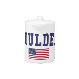 Bandera de Boulder los E.E.U.U.