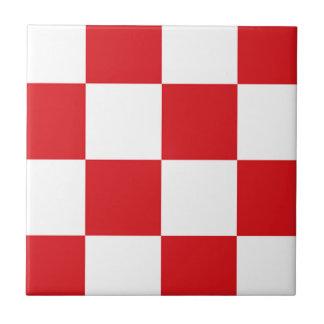 Bandera de Brabante Septentrional Azulejo Cuadrado Pequeño