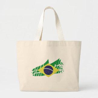 Bandera de Brasil estilo Bolsa De Mano