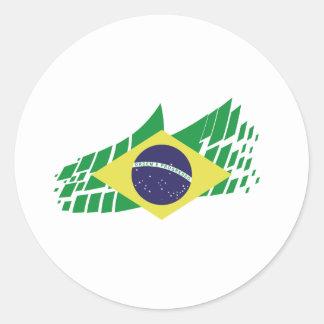 Bandera de Brasil estilo