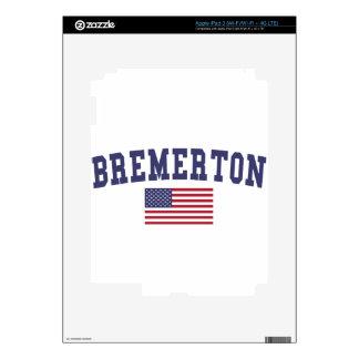 Bandera de Bremerton los E.E.U.U. iPad 3 Pegatina Skin