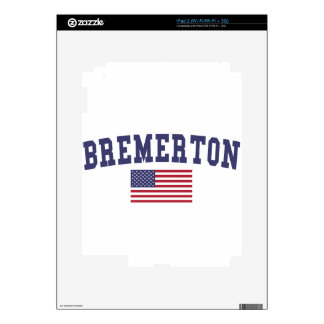 Bandera de Bremerton los E.E.U.U. Skins Para iPad 2