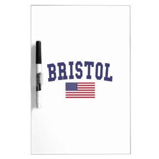 Bandera de Bristol los E.E.U.U. Pizarras