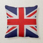 Bandera de Británicos del Grunge Almohada