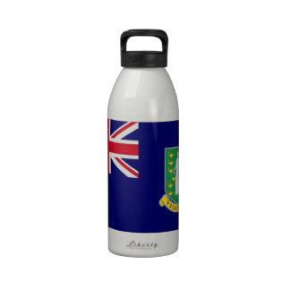 Bandera de British Virgin Islands Botellas De Beber