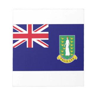 Bandera de British Virgin Islands Libreta Para Notas