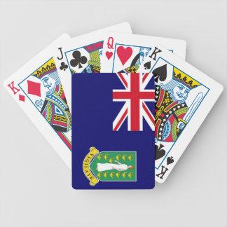 Bandera de British Virgin Islands Cartas De Juego