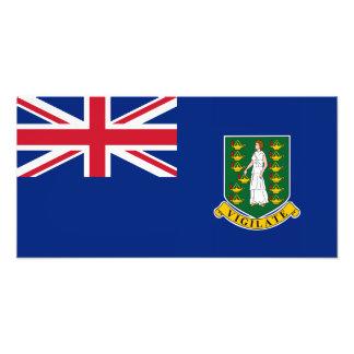 Bandera de British Virgin Islands Impresiones Fotograficas