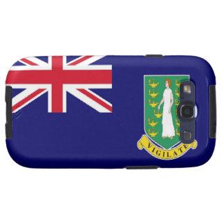 Bandera de British Virgin Islands Galaxy SIII Cárcasa