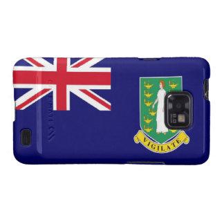 Bandera de British Virgin Islands Galaxy SII Carcasa