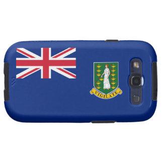Bandera de British Virgin Islands Galaxy SIII Cárcasas