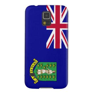 Bandera de British Virgin Islands Fundas De Galaxy S5
