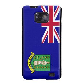 Bandera de British Virgin Islands Galaxy SII Carcasas