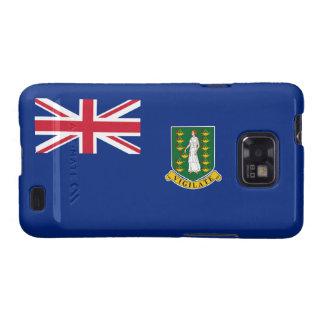 Bandera de British Virgin Islands Samsung Galaxy SII Carcasa