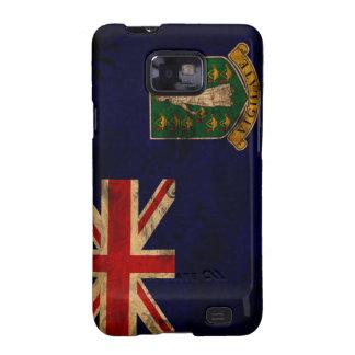 Bandera de British Virgin Islands Samsung Galaxy SII Fundas