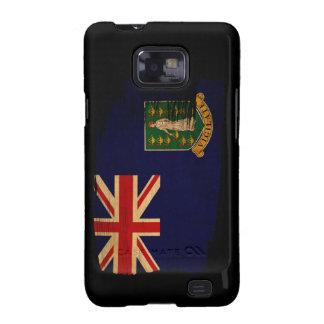 Bandera de British Virgin Islands Samsung Galaxy S2 Carcasa
