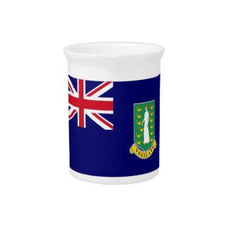 Bandera de British Virgin Islands Jarra