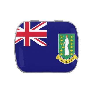 Bandera de British Virgin Islands Jarrones De Dulces