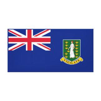 Bandera de British Virgin Islands Impresión En Lienzo Estirada