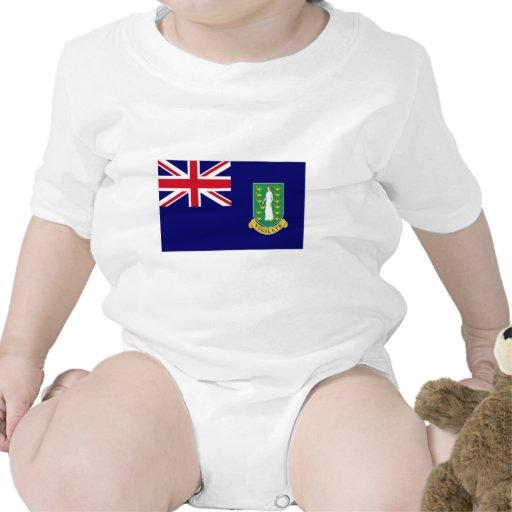 Bandera de British Virgin Islands Traje De Bebé