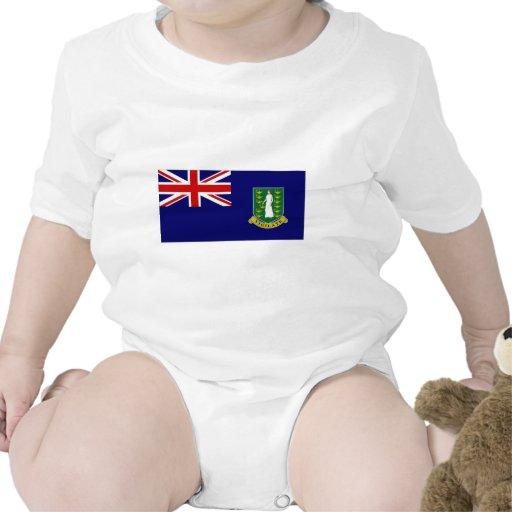 Bandera de British Virgin Islands Trajes De Bebé