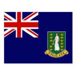 Bandera de British Virgin Islands Postal