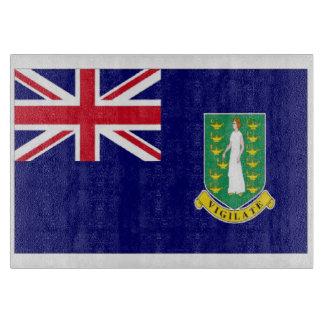Bandera de British Virgin Islands Tablas De Cortar