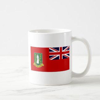 Bandera de British Virgin Islands Taza De Café