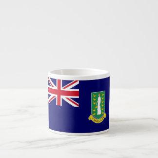 Bandera de British Virgin Islands Tazas Espresso