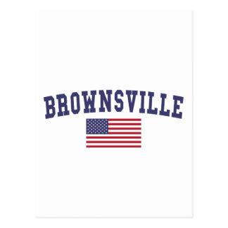 Bandera de Brownsville los E.E.U.U. Postales
