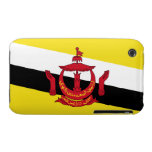 Bandera de Brunei; Bruneian Case-Mate iPhone 3 Protectores