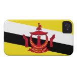 Bandera de Brunei; Bruneian Case-Mate iPhone 4 Carcasa