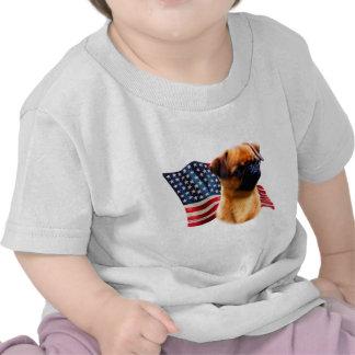 Bandera de Bruselas Griffon Camisetas
