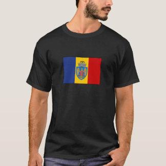 Bandera de Bucarest Rumania Playera
