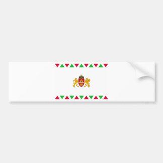Bandera de Budapest Etiqueta De Parachoque