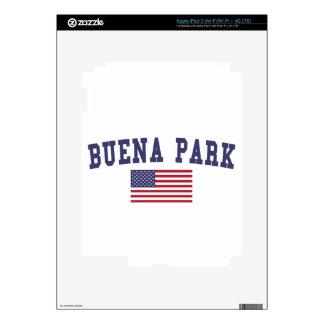 Bandera de Buena Park los E.E.U.U. iPad 3 Skins