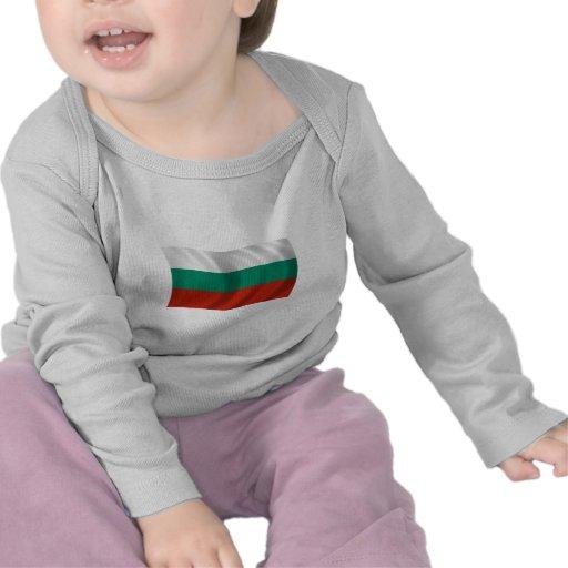 Bandera de Bulgaria Camisetas
