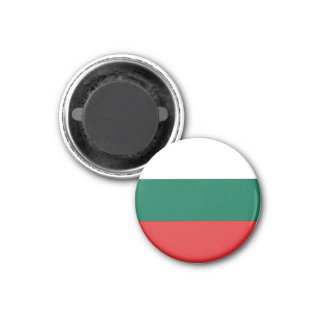 Bandera de Bulgaria Imán Redondo 3 Cm