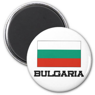 Bandera de Bulgaria Imán Redondo 5 Cm
