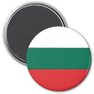 Bandera de Bulgaria Imán Redondo 7 Cm