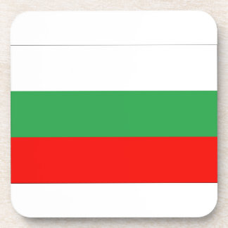 Bandera de Bulgaria Posavasos De Bebida