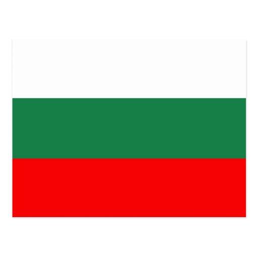 Bandera de Bulgaria Tarjetas Postales